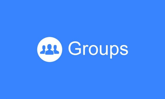 Facebook grupo para negócios - Groups