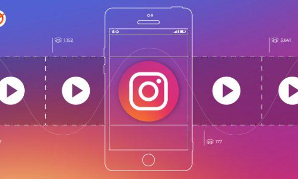 vídeos do Instagram