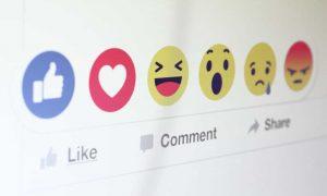 convide todas reações para curtir sua página